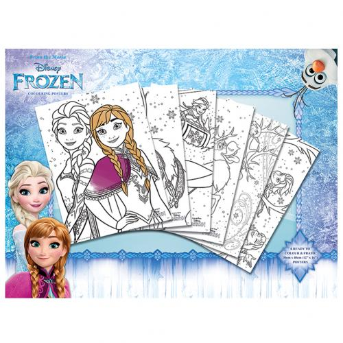 Frozen Colouring Poster Pack