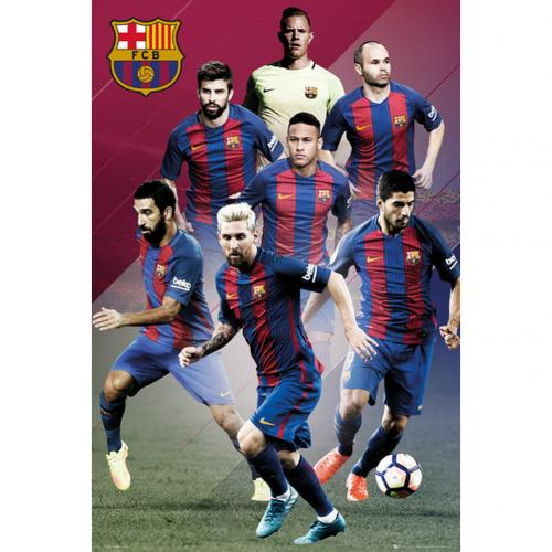 F.C. Barcelona Poster Players 81