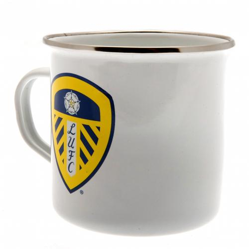 Leeds United F.C. Tin Mug