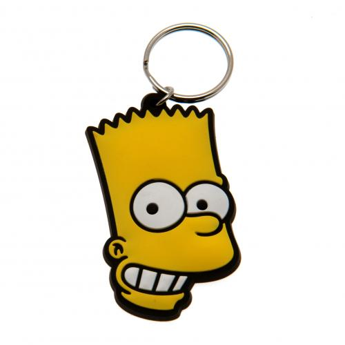 The Simpsons Keyring Bart