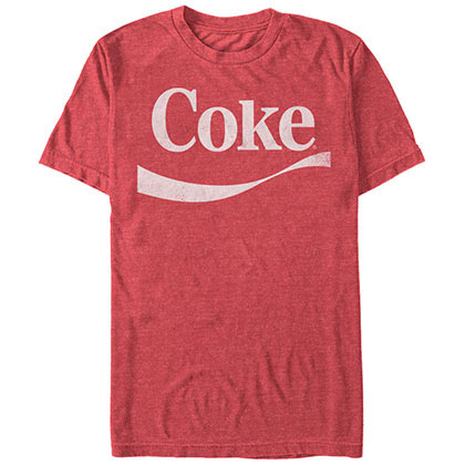 COCA-COLA Simple Coke Swoosh Red T-Shirt