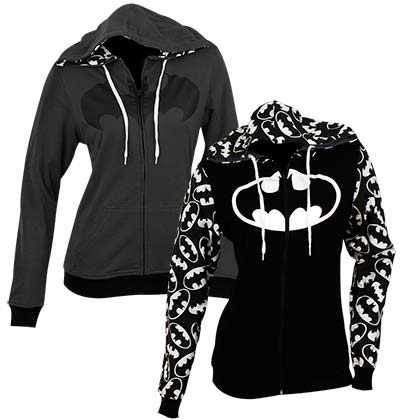 BATMAN Reversible Woman's Hoodie