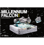 Star Wars Egg Attack Floating Model with Light Up Function Millennium Falcon (Episode V) 14 cm