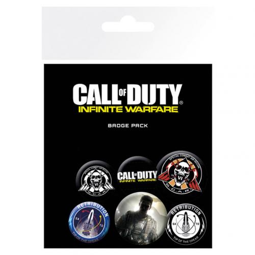 Call Of Duty Infinite Warfare Button Badge Set