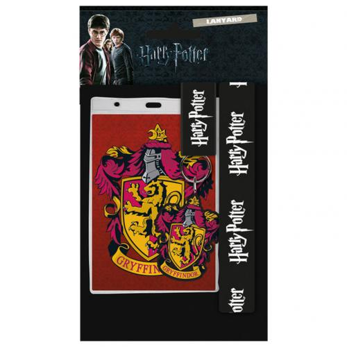 Harry Potter Lanyard & Keyring Set