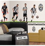 Juventus FC Wall Stickers 4 Top Players