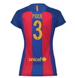 2016-17 Barcelona with Sponsor Womens Home Shirt (Pique 3)