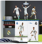 Real Madrid Wall Stickers 5 Top Players