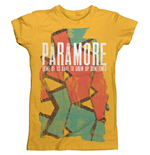 Paramore T-shirt Sometimes Pattern