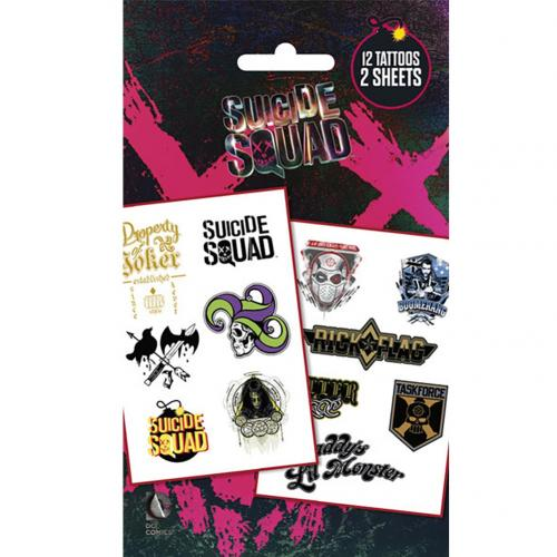 Suicide Squad Tattoo Pack