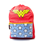 Wonder Woman - Big Logo. Red Bag W/ Gadgets