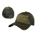 UFC - Green with Yellow Logo Flex Cap