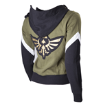 Zelda - Detailed Female Hoodie, Golden Wingcrest Patch