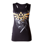 Zelda -Female Tanktop, Link and Triforce
