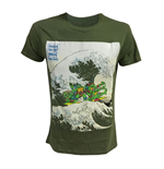 Turtles - Green Surfing Men's T-shirt