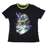 Turtles - Black. Donnie T-shirt