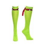 Turtles - Ralph Mask with Ribbon. Knee High S