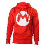 Nintendo - Red Hoodie with M logo in front