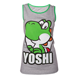 Nintendo - Grey Green Yoshi Girls Tank Top