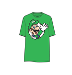 Nintendo - Green. Luigi waving