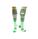 Nintendo - Green Mushroom Stripes Knee High