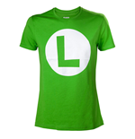 Nintendo - Luigi T-shirt with Big L