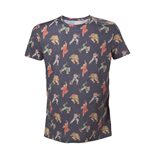 Street Fighter- All over Characters T-shirt