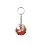 Star Wars - Resistance Logo  Metal Keychain, The Force Awakens