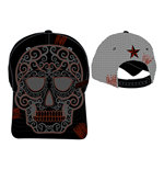 Rockband - Adjustable Cap with Skull