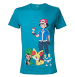 Pokenmon - Mens T-shirt Green with print