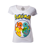 Pokémon - Pokémons in circle women's t-shirt