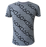 PlayStation - All over PlayStation Buttons T-shirt
