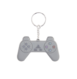 Playstation - Grey Controller Rubber Keychain