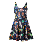 Nintendo - Icons Black Dress