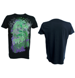 Miami Ink - Black. T-Shirt Green Dragon