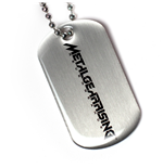 Metal Gear Rising - Stamped Dog Tag Metal