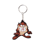 Looney Tunes - Tazmanian Devil Rubber Keychain