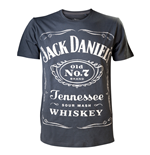 Jack Daniel's - Vintage Grey Men's T-shirt