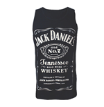 Jack Daniel's - Black. Men's Top