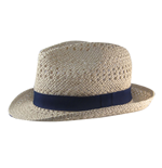 Free Authority - Open Wave Paper Straw Fedora