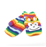 Freaks And Friends - Rainbow Monkey Mittens