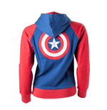 Captain America - Shield Logo Female Hoodie