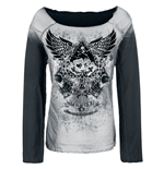 Alchemy - Woman's Sweat shirt Illionis Winged Ace of spade