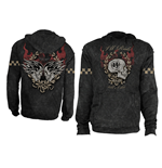 Death Race' - Marlite/Black. Men's Hoodie