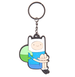 Adventure Time - Sitting Finn Rubber Keychain