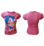 Sega - Sonic the Hedgehog Girls Tshirt
