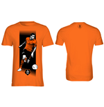 KNVB - Van der Wiel. Orange Shirt