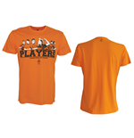 KNVB - Players. Orange Shirt