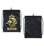 KNVB - Gymbag With Logo. Black/Gold