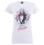 Suicide Squad Girlie T-shirt  - DADDY'S Lil Monster
